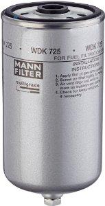 Топливный фильтр MANN-FILTER WDK 725 (WDK725)