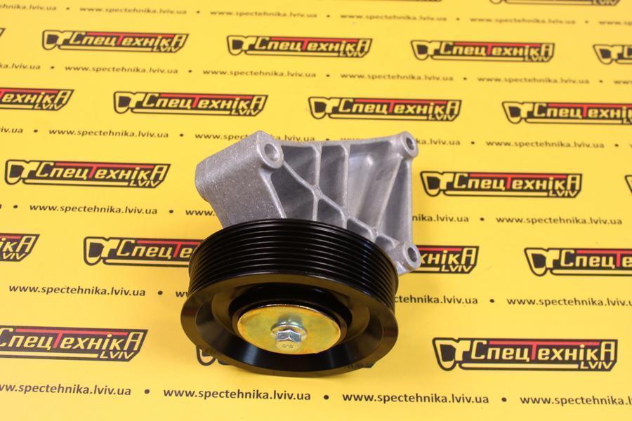 Ролик натяжной двигателя нижний JCB (320/08623) (32008623) (320-08623) (320 08623)
