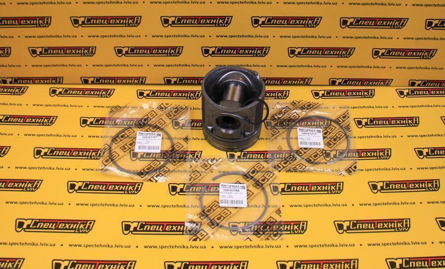 Фото №5 - Поршень двигателя 0.5 мм (комплект с кольцами) JCB (320/09238) (320-09238) (32009238) (320 09238) - ORG