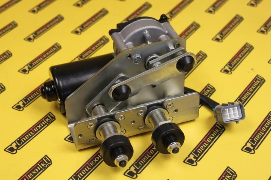 Электродвигатель (мотор) переднего склоочистителя JCB 3CX 4CX (714/40147, 714-40147, 71440147)