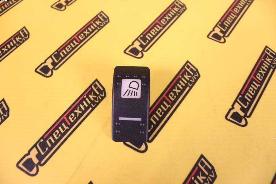 Крышка кнопка клавиша переключателя переднего робочего света JCB (701/58826, 701-58826)