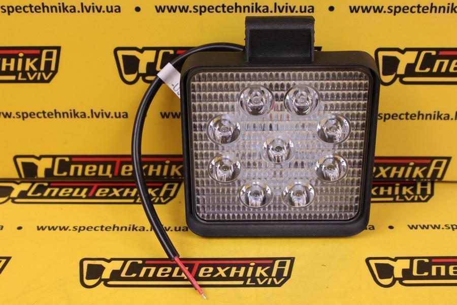Фара рабочая 9*3w LED квадратная TT13217