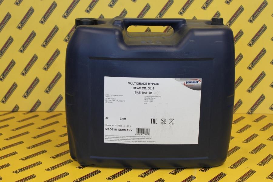 Трансмиссионное масло Pennasol GL5 80W90 (80W-90) 20л.